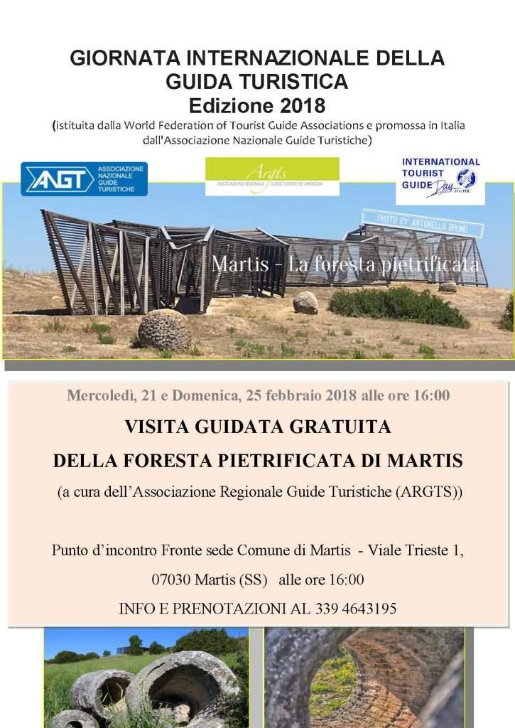 MARTIS, Foresta Pietrificata - 21 E 25 FEBBRAIO