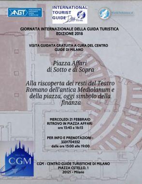 MILANO 21 FEBBRAIO- Teatro Romano