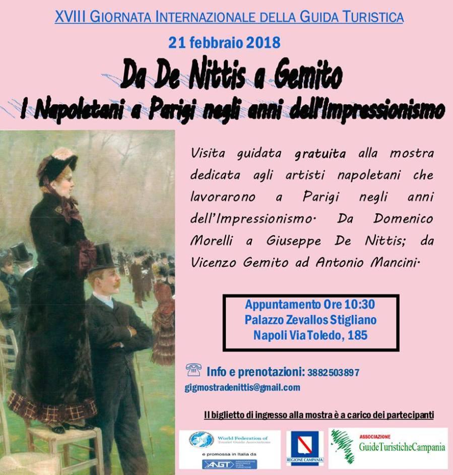 NAPOLI 21 FEBBRAIO - Mostra De Nittis