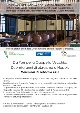 NAPOLI 21 FEBBRAIO -Sinagoga