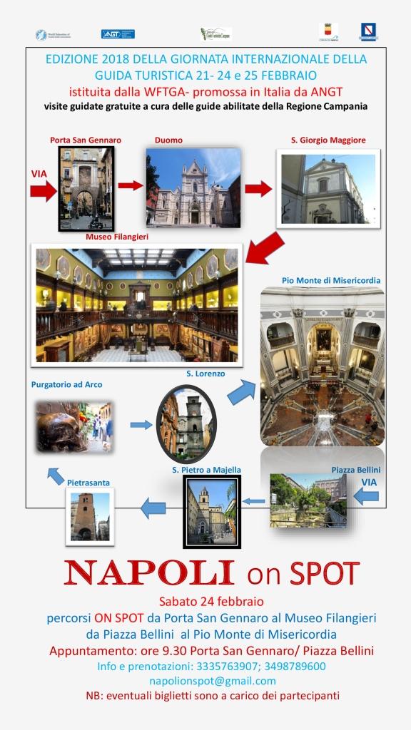NAPOLI 24 FEBBRAIO - Napoli on spot