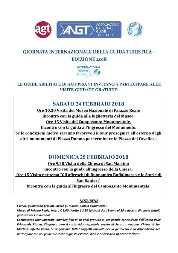 PISA - 24 e 25 FEBBRAIO