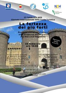 NAPOLI, -23 Febbraio - Maschio Angioino per bambini