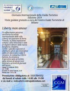 MILANO - 23 Febbraio - Liberty mon amour