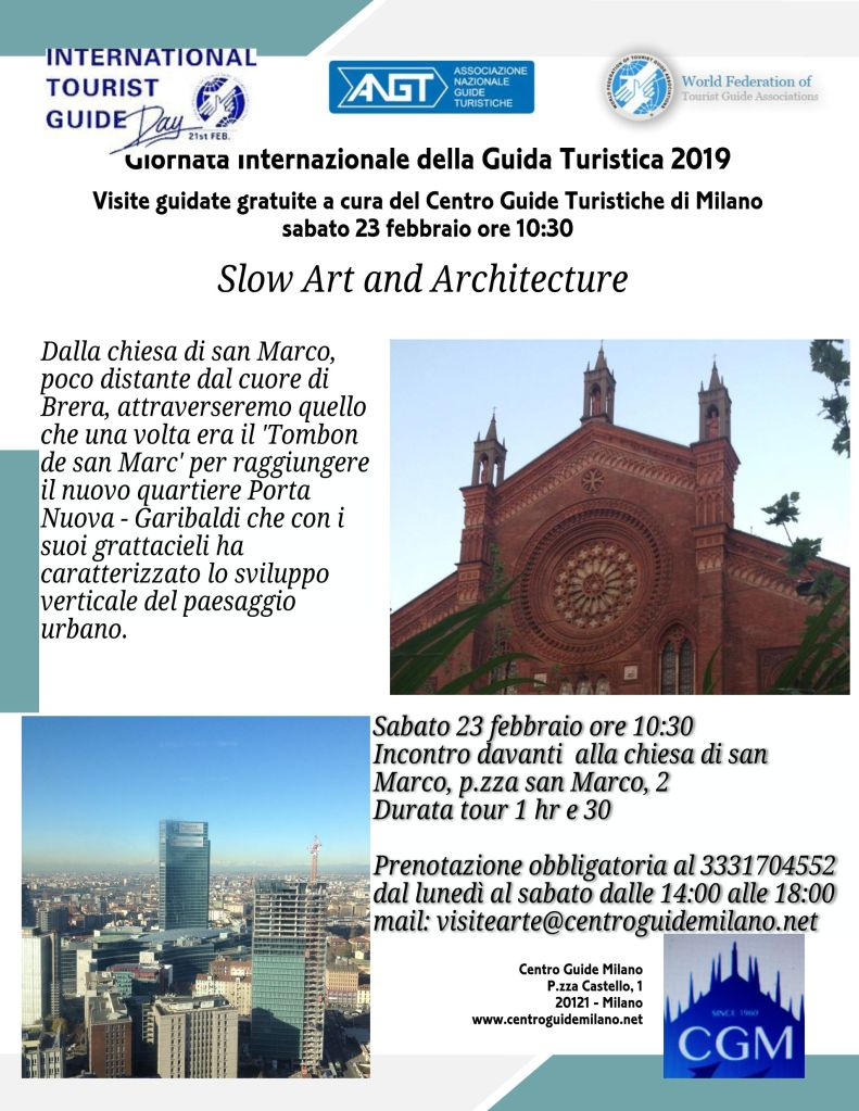 MILANO - 23 Febbraio - Slow Art and Architecture