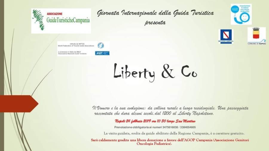 NAPOLI - 24 Febbraio - Liberty al Vomero