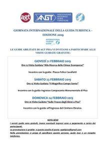 PISA - 21, 23, 24 febbraio