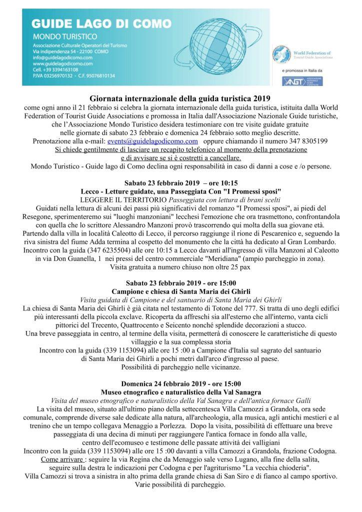Provincia COMO- 23 e 24 febbraio