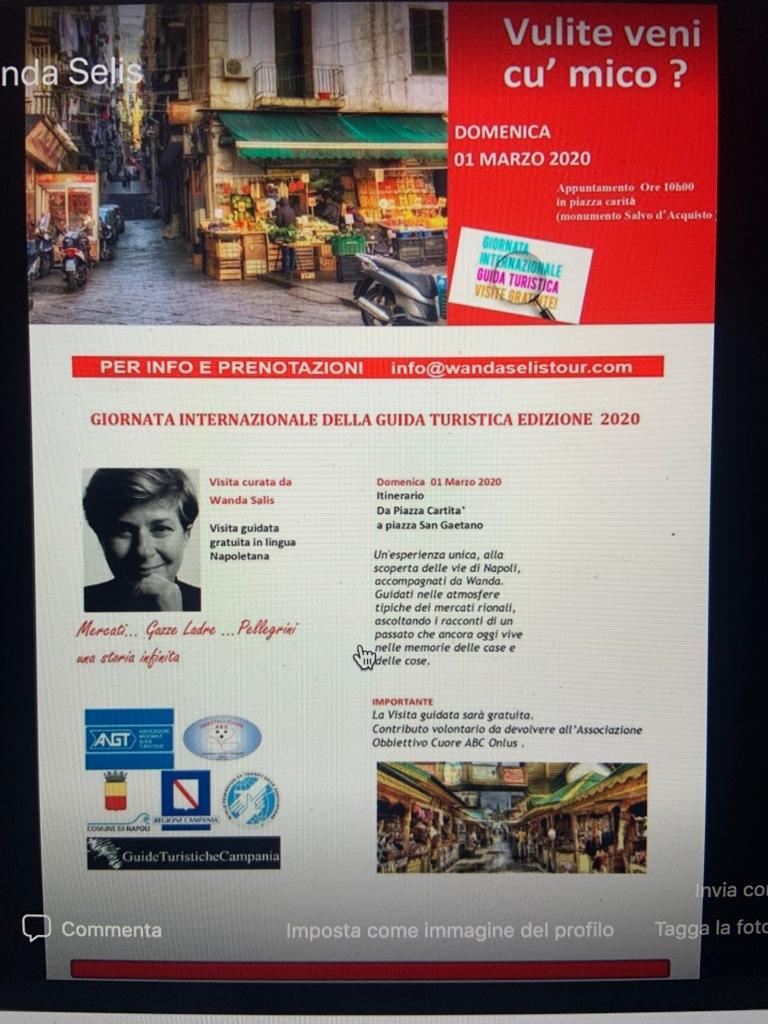 NAPOLI : visita in lingua napoletana - 1 marzo