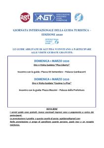 PISA - 1 marzo