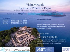 CAPRI: la vita di Tiberio a Capri - 19 e 20 febbraio