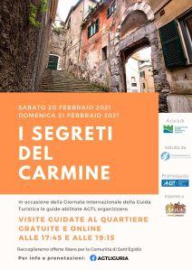 GENOVA: I segreti del Carmine - 20 e 21 febbraio