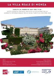 MONZA: La Villa Reale - 20 febbraio