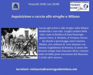 MILANO inquisizione e caccia alle streghe: 19 febbraio