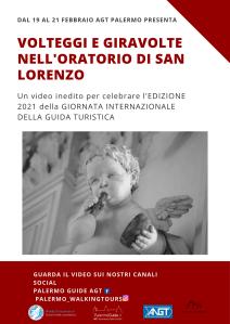 PALERMO: oratorio di San Lorenzo dal 19 ,20 e 21 febbraio