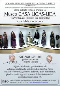 SETTIMO SAN PIETRO (CA) : Museo Casa Ligas-Uda -21 febbraio